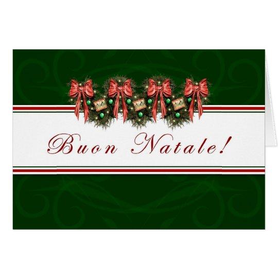 Buon Natale - Italian - Merry Christmas Card
