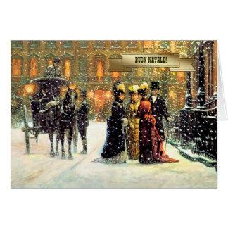 Buon Natale. Italian Vintage Style Christmas Cards