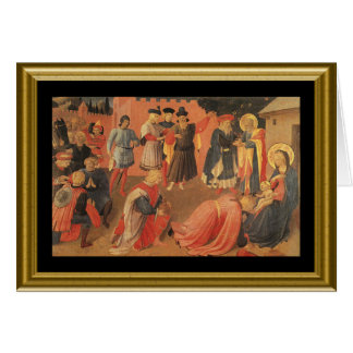 Buon natale - Lord's Prayer in Italian Greeting Card