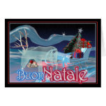 Buon Natale  -Merry Christmas Greeting Cards