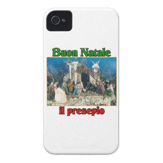 Buon Natale (Merry Christmas) IL Presepio iPhone 4 Cover
