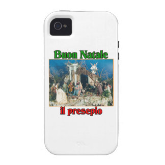 Buon Natale (Merry Christmas) IL Presepio Case-Mate iPhone 4 Case