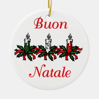Buon Natale - Merry Christmas Ornament