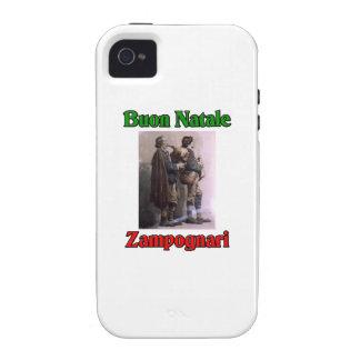 Buon Natale (Merry Christmas) Zampognari Vibe iPhone 4 Cases