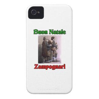 Buon Natale (Merry Christmas) Zampognari Case-Mate iPhone 4 Cases