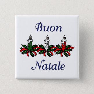 Buon Natale Pinback Button