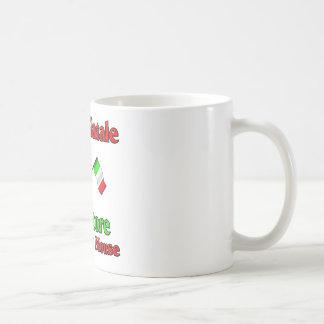 Buon Natale Salvador el ratón italiano Taza