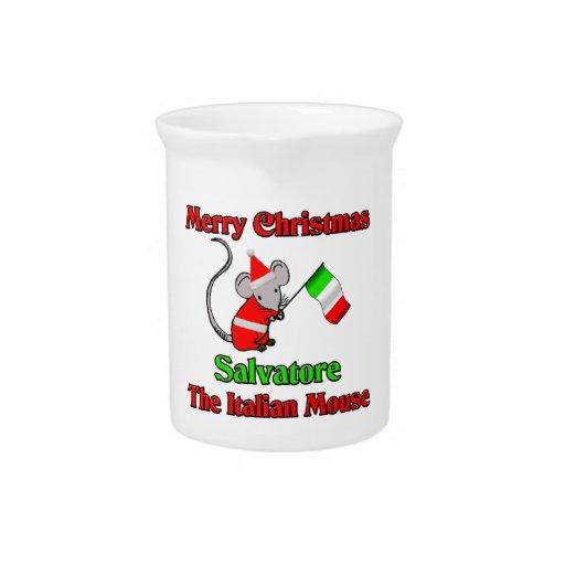 Buon Natale Salvatore The Italian Mouse Pitcher