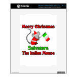 Buon Natale Salvatore The Italian Mouse Decal For The NOOK