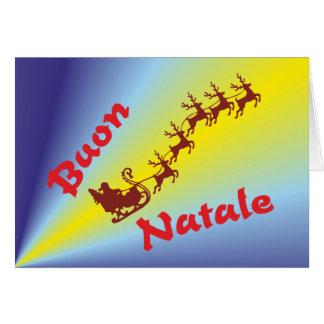 Buon Natale Tarjeta