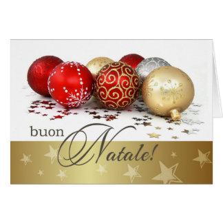 Buon Natale Tarjetas de Navidad italianas