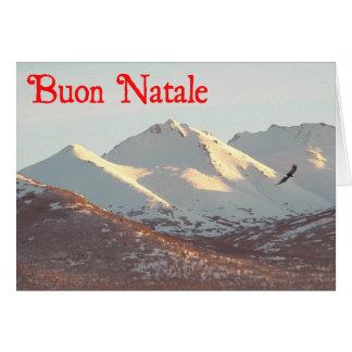 Buon Natale - Winter Eagle Card
