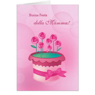 Buona Festa della Mamma. Italian Greeting Cards