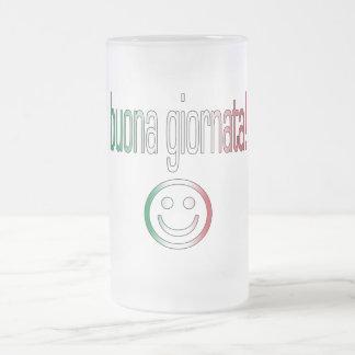 Buona Giornata! Italy Flag Colors Coffee Mugs