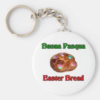 Buona Pasqua Easter Bread Keychain