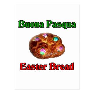 Buona Pasqua Easter Bread Postcard