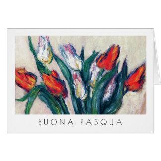 Buona Pasqua. Fine Art Easter Card in Italian
