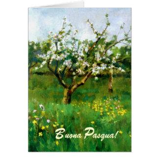 Buona Pasqua. Fine Art Italian Easter Card