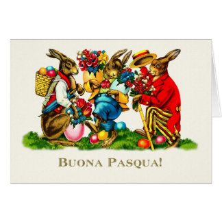 Buona Pasqua. Italian Easter Greeting Cards