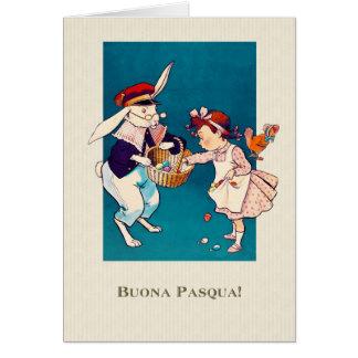 Buona Pasqua. Italian Happy Easter Cards