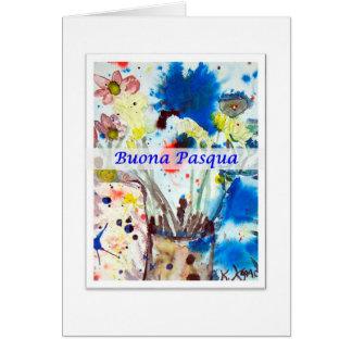 Buona Pasqua, Italiano Easter Card