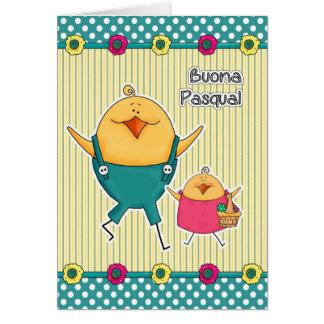 Buona Pasqua Tarjetas de pascua adaptables del it