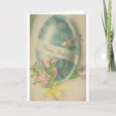 Buona Pasqua! Vintage Italian Easter Card