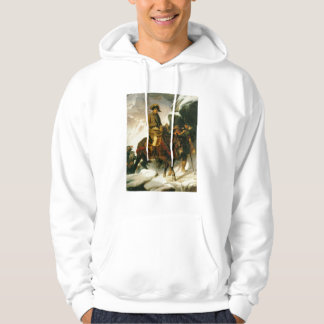 'Buonaparte Crossing the Alps' Hooded Pullover