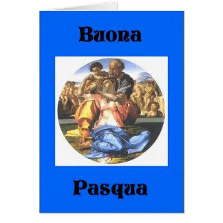 BuonaPasqua - Happy Easter Italian Style Card