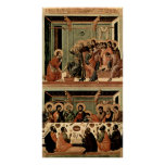 Buoninsegna - Washing of the Feet Last Supper Posters
