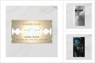 BUOR Barber Biz Cards