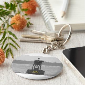Buoy Basic Round Button Keychain