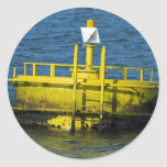 Buoy Round Sticker