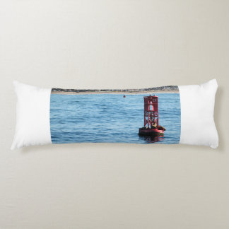 Buoy Sea Lions Body Pillow