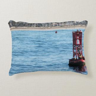 Buoy Sea Lions Decorative Pillow
