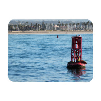 Buoy Sea Lions Vinyl Magnets