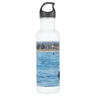 Buoy Sea Lions Water Bottle