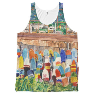 Buoys And The Window All-Over-Print Tank Top