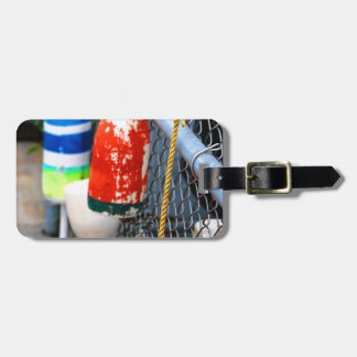 Buoys on the Fence Tag For Luggage