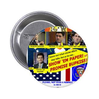 ¡BUPKISS! - Botón Pin