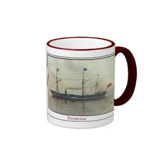 Buque de vapor Frontenac Tazas De Café
