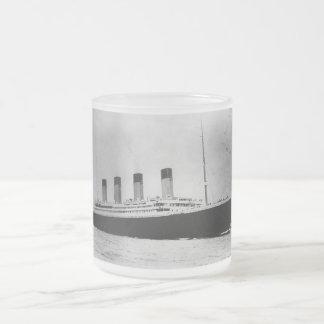 Buque de vapor RMS del trazador de líneas de Taza De Cristal