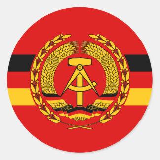 Buques de guerra de VM (la Alemania Oriental), Pegatina Redonda