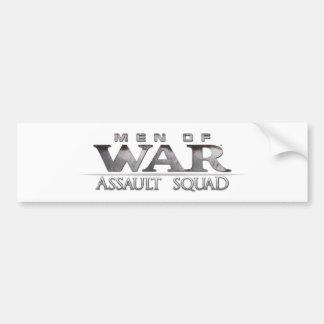 Buques de guerra: Pelotón del asalto - parachoque Pegatina Para Auto