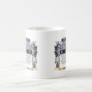 Bur Coat of Arms - Family Crest Classic White Coffee Mug