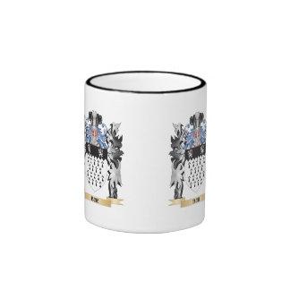 Bur Coat of Arms - Family Crest Ringer Coffee Mug