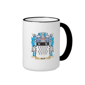 Bur Coat of Arms Ringer Coffee Mug
