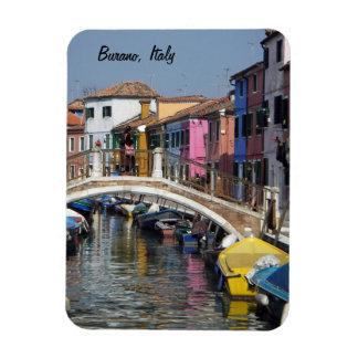 Burano Bridge, Italy Magnet