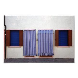 Burano Colorful Houses Photo Print