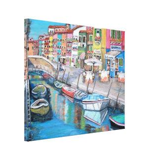 Burano, Italia - impresión estirada de la lona Lona Estirada Galerias